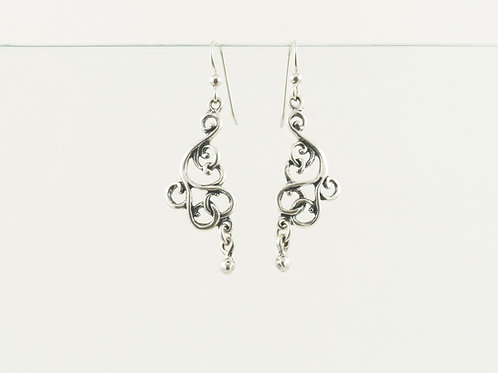 Large Victorian Earrings
