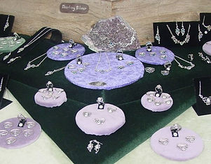 New York Renaissance Fair Table Moon Angel Jewelry