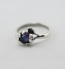 Simple Ring Fire Opal