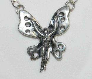 Butterfly Fairy Necklace
