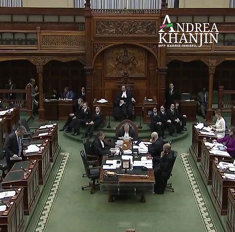 MPP Andrea Khanjin