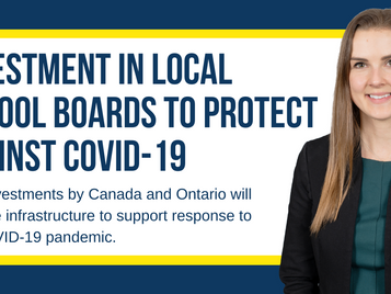 Investment in Local School Boards to Protect Against COVID-19