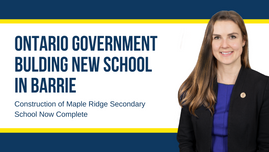 Ontario Government Building New School in Barrie