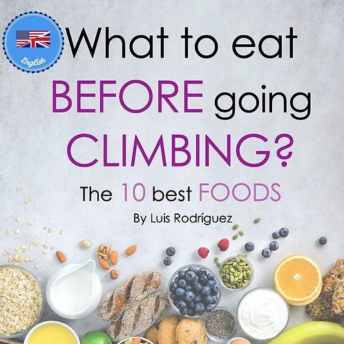 What to eat BEFORE a CLIMBING day - English