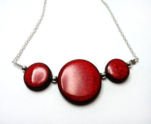 pilipok | collier,rouge,céramique,créatrice,bijoux,contemporains,lyon,croix rousse