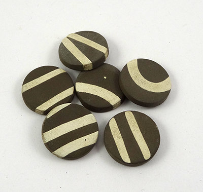 petites pastilles diffuseurs d'huiles essentielles en céramique naturelle