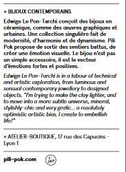article presse pili-pok creatrice bijoux ceramique france