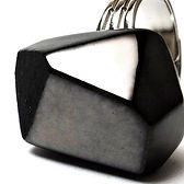 grosse bague diamant noir bijou ceramique designer made in france