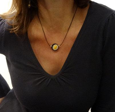 petit collier chic femme bijou artisanal chic original discret
