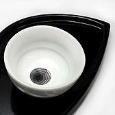vaisselle design contemporain noir blanc graphique createur pili-pok france
