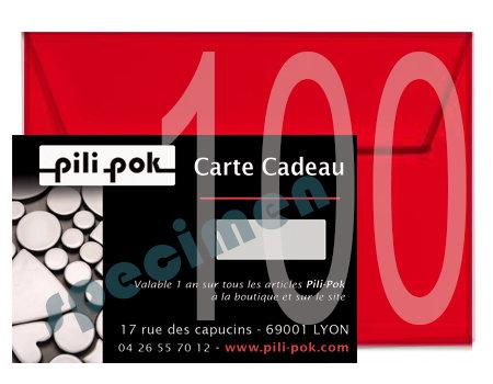 carte cadeau bijoux contemporains en céramique Pilipok