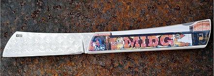 couteau collection street art midg creation ceramique pili-pok