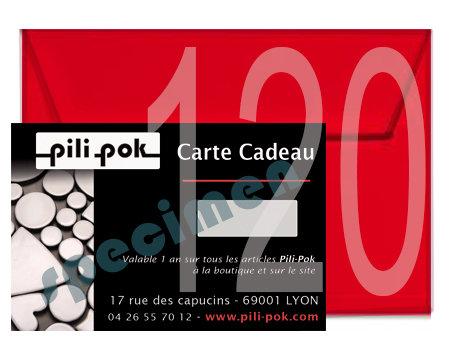 carte cadeaux originaux boutique en ligne pili pok