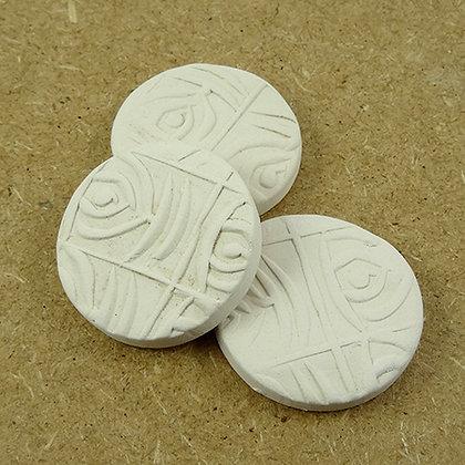 palets deco blanc diffuseurs d'huiles essentielles en céramique naturelle