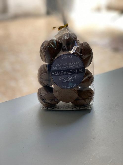 Macarons au Chocolat 250g.