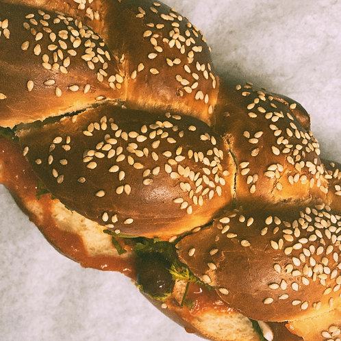 Challah Bread Sandwich - DELIVERY OU PICKUP UNIQUEMENT LE MARDI