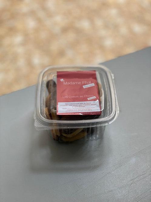 Coeurs au Choco Madame Fhal Sans Sucre 150 g.