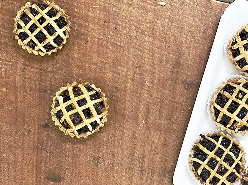 Tartelette Confiture de Raisins & Noix