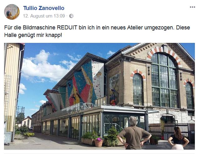 Tullio Zanovelle | Bildmaschine Reduit | Sasso San Gottardo | Ferienregion Andermatt | Gotthardpass