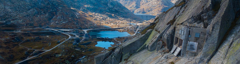 Passhöhe Gotthard Muesum Sasso