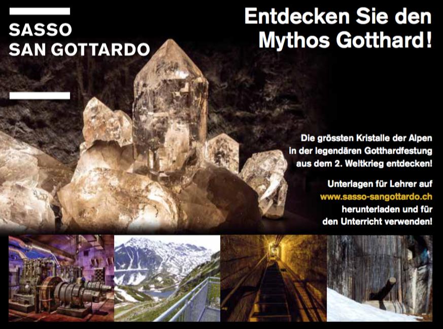 Sasso San Gottardo - Mythos Gotthard