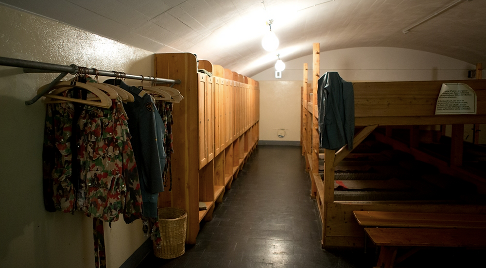 Sasso San Gottardo - Schlafsaal
