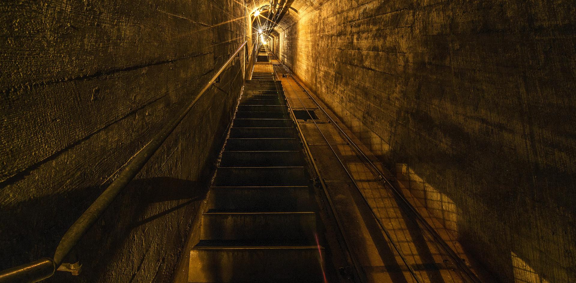 Zügig 475 Stufen hoch zur historischen Festung!
