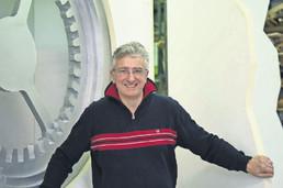 Mythos Gotthard Künstler Tullio Zanovello hat prominente Unterstützung für sein Bildmaschinen-Projek