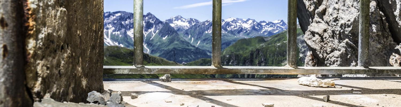 Aussicht Gotthardpass Museum Sasso