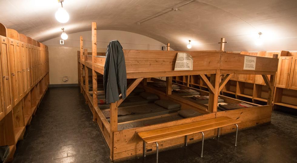 Die historische Festung ist im Originalzustand erhalten – hier spüren sie den Atem der Geschichte!