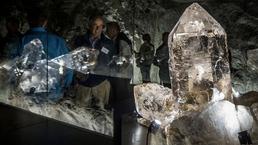 Riesenkristalle in der Gebirgsfestung