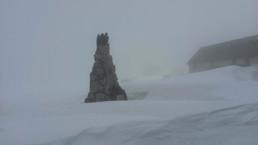 Noch kein Frühling auf dem Gotthardpass
