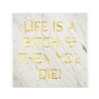 Gravestones gravestones stone marble gold tomb tombstones tombstones tim Bengel headstone life is a bitch and then you die