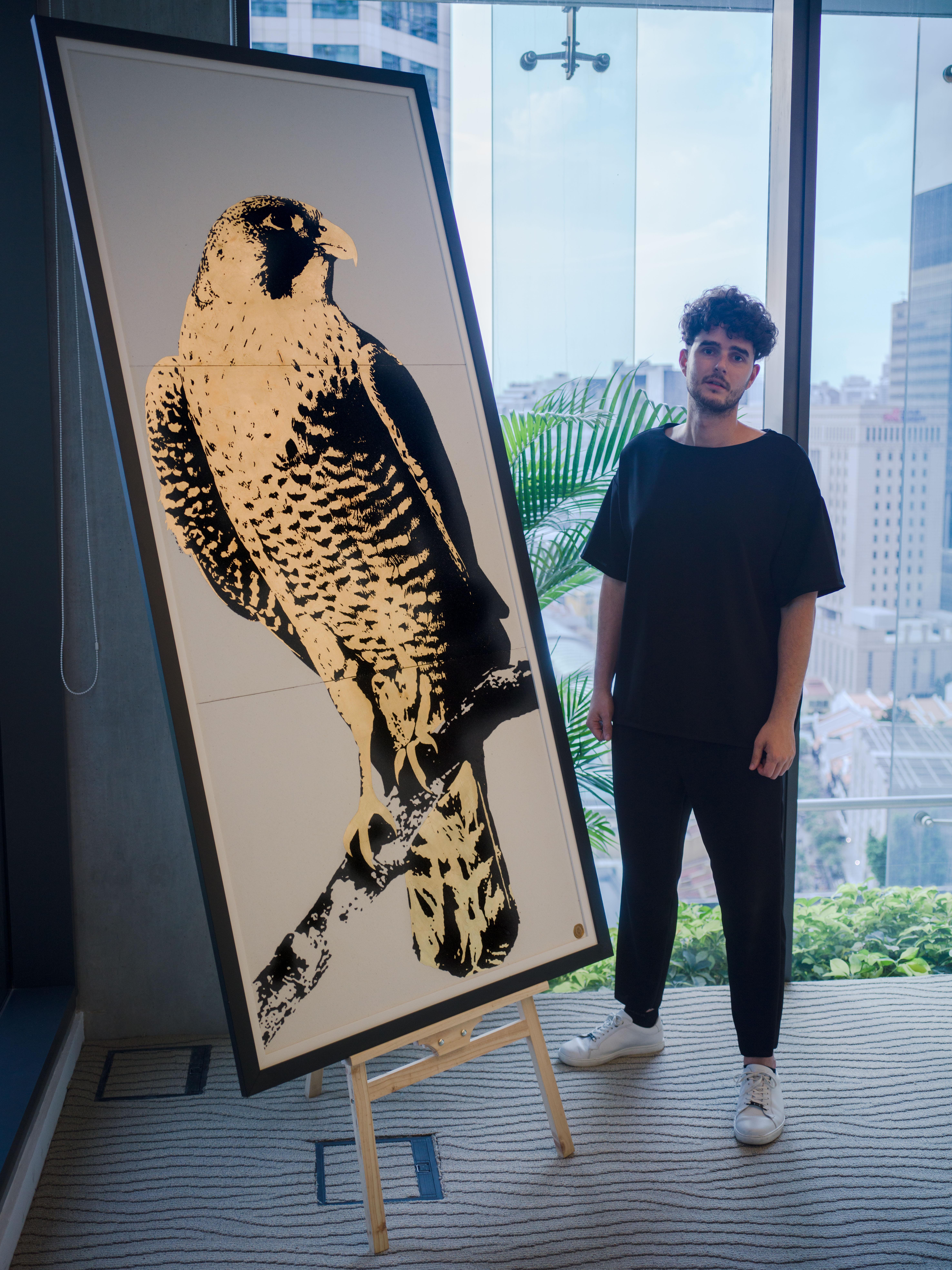 Tim Bengel Artist Kunst Sand Gold