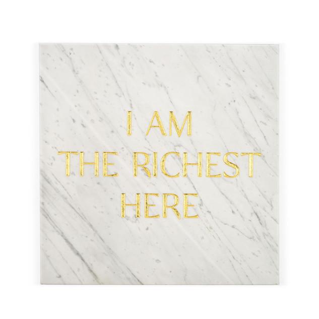 Gravestones gravestones stone marble gold tomb tombstones tombstones tim Bengel headstone i am the richest here