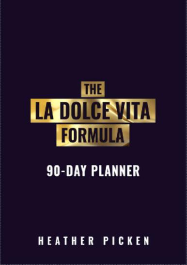 La Dolce Vita Planner