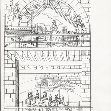Final Pencil Drawing for 1811