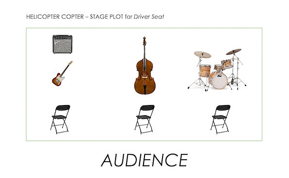 Driver Seat Stage Plot