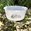 Thumbnail: Bowl de arcopal con decoración de margaritas .