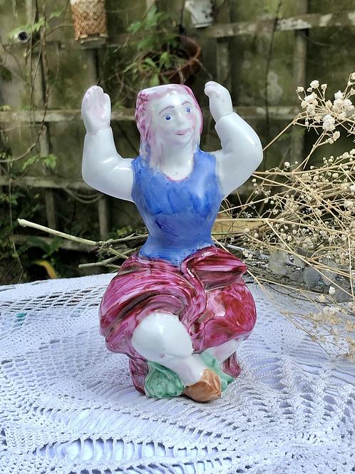Bailarina de porcelana de O Castro.