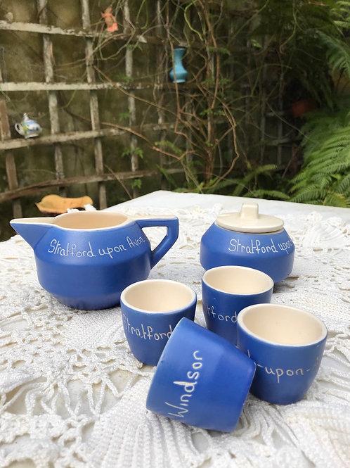 Juego de cerámica inglesa Stratford supone Avon