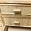 Thumbnail: Còmoda de bambú y ratán.