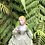 Thumbnail: Dama con flor. Porcelana  J.G. Decorada a mano.