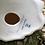Thumbnail: Figura dama de porcelana J.G., decorada a mano .