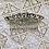Thumbnail: Peineta pequeña con cristales.