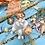 Thumbnail: Figura de niños de porcelana de Algora,