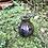 Thumbnail: Jarra de cristal decorada con plata .