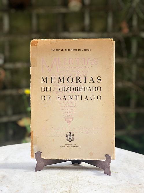 Memorias del Arzobispo de Santiago, 1949, Cardelan Jeronimo del Hoyo