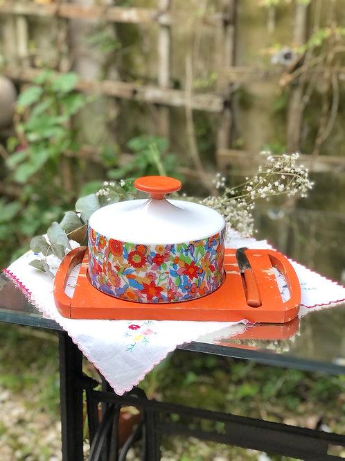 Antigua quesera de porcelana Guillén.