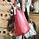 Thumbnail: Bolso vintage. Piel de color rojo.
